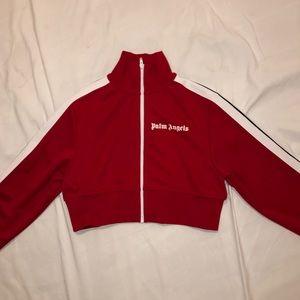 Palm angel crop track jacket